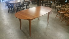 Oval Cherry Extension Table