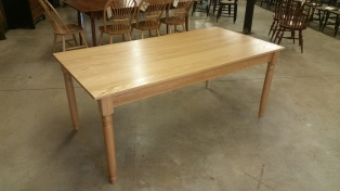 Natural Oak Farm Table